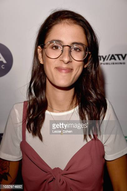 Sarah Aarons attends 2018 Songs of Hope Presented By Spotify on September 13 2018 in Sherman Oaks California