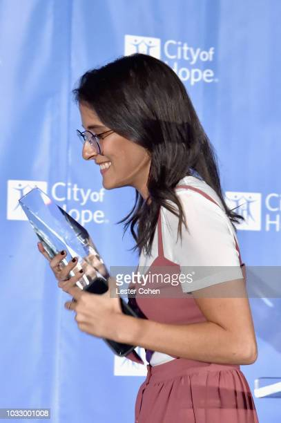 Sarah Aarons onstage during 2018 Songs of Hope Presented By Spotify on September 13 2018 in Sherman Oaks California