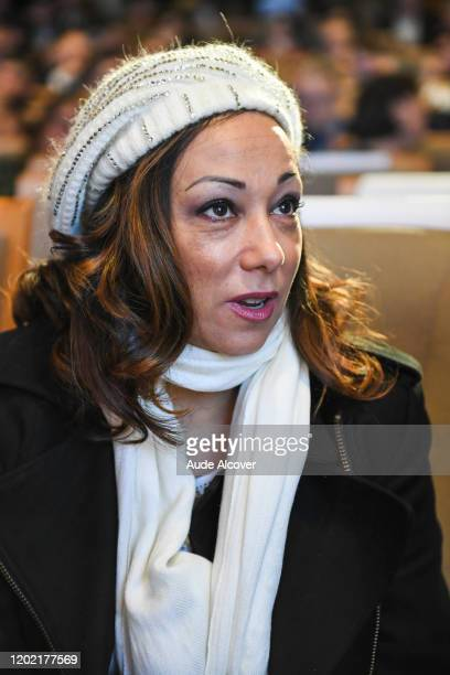 Sarah ABITBOL during the National Convention Prevention for Sexual Violences in Sports at CNOSF on February 21 2020 in Paris France