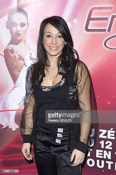 Sarah Abitbol in Paris France on January 15 2009