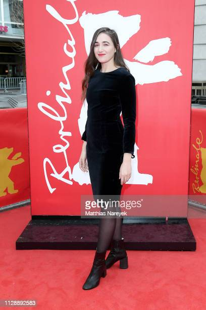 Sarah Adina Smith attends the 'Hanna' premiere during the 69th Berlinale International Film Festival Berlin at Zoo Palast on February 11 2019 in...
