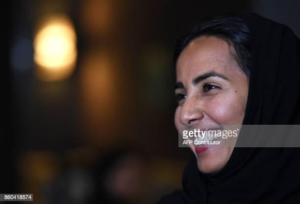 Sarah Algwaiz director of the women chauffeurs program which trains new female drivers at Careem a chauffeur driven car booking service gives an...