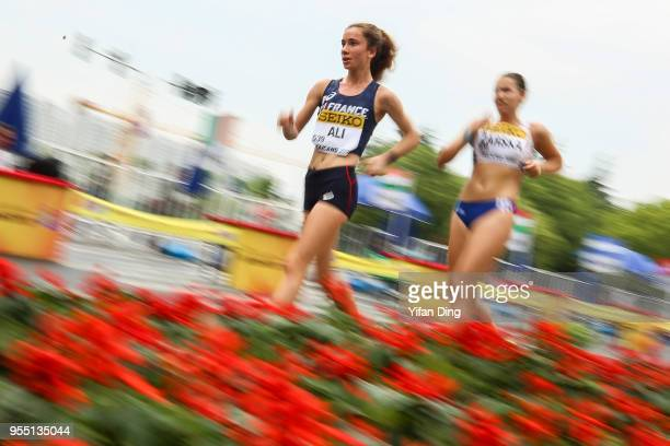 Sarah Ali of France in action during Women's 10 kilometres Race Walk of IAAF World Race Walking Team Championships Taicang 2018 on May 6 2018 in...
