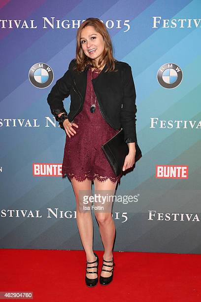 Sarah Alles attends the Bunte BMW Festival Night 2015 on February 06 2015 in Berlin Germany