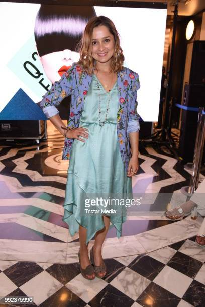 Sarah Alles attends the Fashion2Show show during the Berlin Fashion Week Spring/Summer 2019 at Quartier 206 on July 5 2018 in Berlin Germany