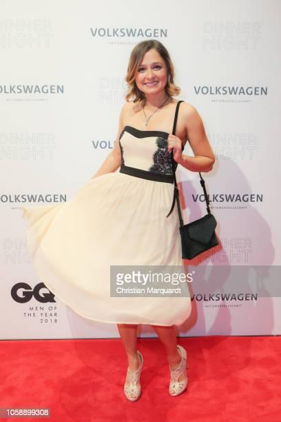 Sarah Alles attends the Volkswagen Dinner Night at DRIVE Volkswagen Group Forum on November 07 2018 in Berlin Germany