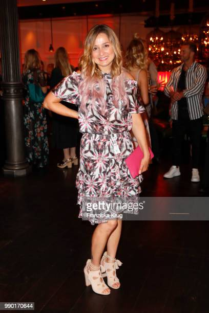 Sarah Alles during the Bunte New Faces Night at Grace Hotel Zoo on July 2 2018 in Berlin Germany