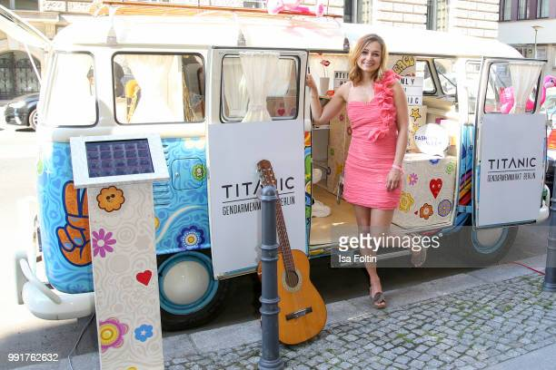 Sarah Alles during the Grazia Pink Hour at Titanic Hotel on July 4 2018 in Berlin Germany