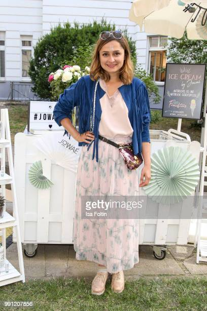 Sarah Alles during the Klambt Style Cocktail at HENRI Hotel on July 3 2018 in Berlin Germany