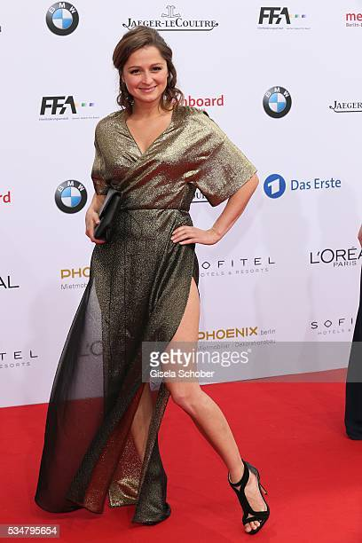 Sarah Alles during the Lola German Film Award 2016 on May 27 2016 in Berlin Germany