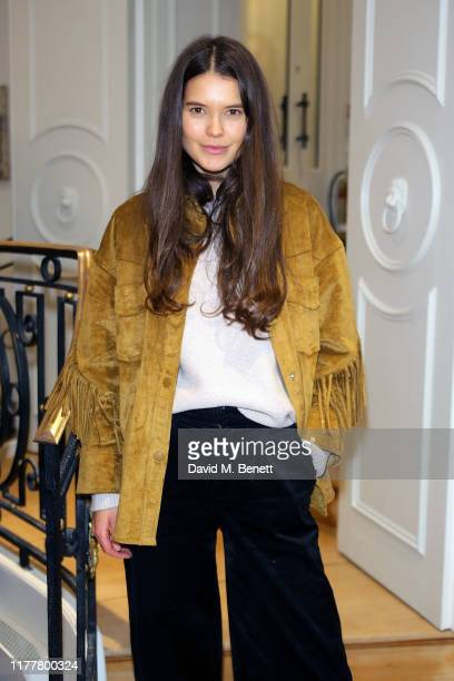 Sarah Ann Mackin attends the launch of the KheraGriggs Mind Body Spirit Cleanse Clinic at Urban Retreat on October 23 2019 in London England