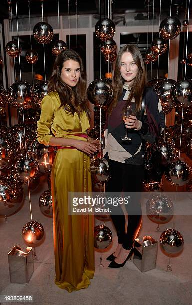 Sarah Ann Macklin and her cousin attend the opening of new landmark 41storey development South Bank Tower with an exclusive event in the penthouse...