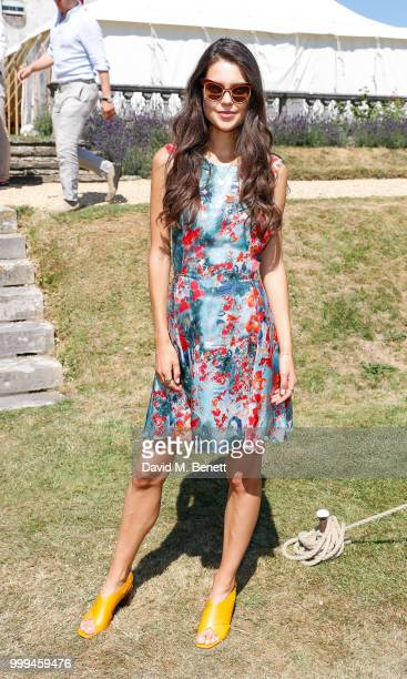 Sarah Ann Macklin attends Cartier Style Et Luxe at The Goodwood Festival Of Speed Goodwood on July 15 2018 in Chichester England