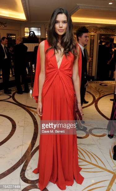 Sarah Ann Macklin attends Lord Coe's 'Journey to 2012' event for the PSP Association at The Dorchester on October 16 2012 in London England