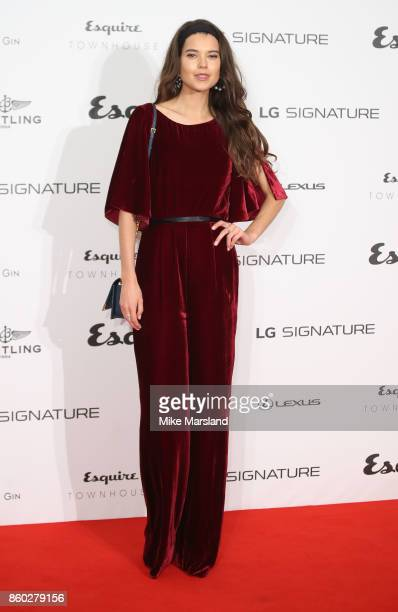 Sarah Ann Macklin attends the Esquire Townhouse with Dior party at No 11 Carlton House Terrace on October 11 2017 in London England
