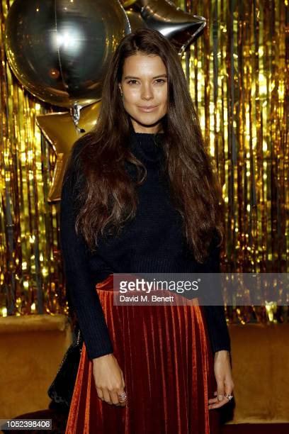Sarah Ann Macklin attends the Miss Selfridge Christmas party collection Launch at Scotch of St James on October 17 2018 in London England