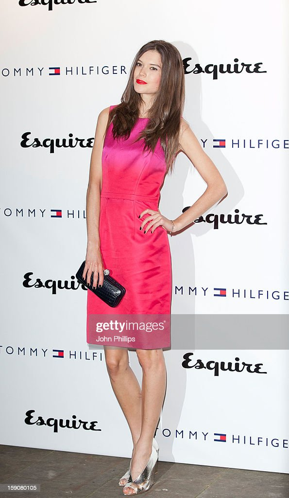 Sarah Ann Macklin attends the Tommy Hilfiger & Esquire event at the London Collections: MEN AW13 at on January 7, 2013 in London, England.
