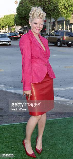 Sarah Ann Morris at the world premiere of 'The Replacements' in Los Angeles Photo by Kevin Winter/ImageDirect