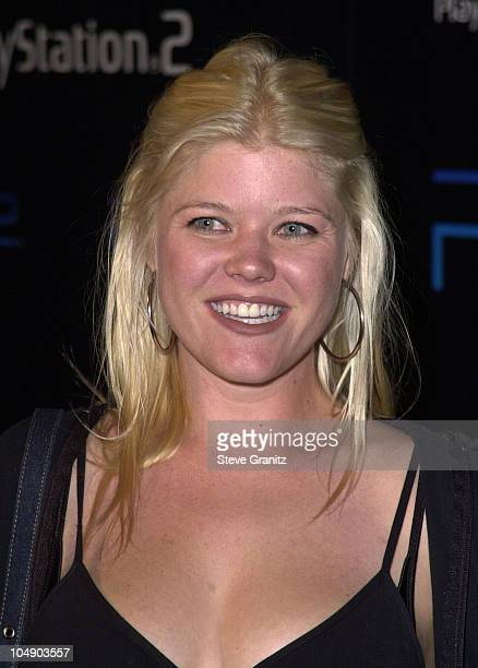 Sarah Ann Morris during Playstation 2 E3 Party at Hollywood American Legion in Hollywood California United States