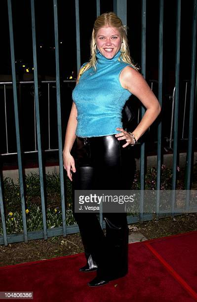 Sarah Ann Morris during Shannon Elizabeth Launches Animal Avengers Charity at Club Vinyl in Hollywood California United States