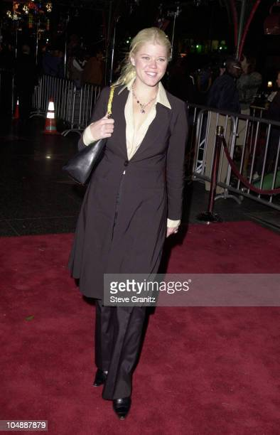 Sarah Ann Morris during The Family Man Los Angeles Premiere at Mann Chinese Theatre in Hollywood California United States