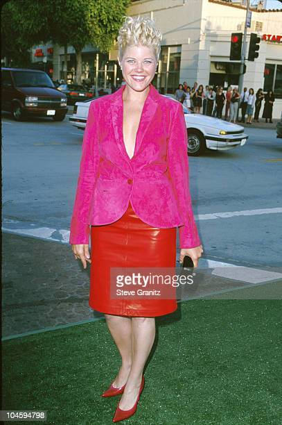 Sarah Ann Morris during The Replacements Premiere at Mann Village Theatre in Westwood California United States