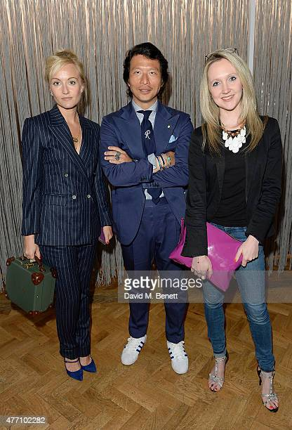 Sarah Ann Murray Wei Koh and Abigail Hayhoe attend the brunch for REDA in collaboration with The Woolmark Company and Magnum celebrating 150 years at...