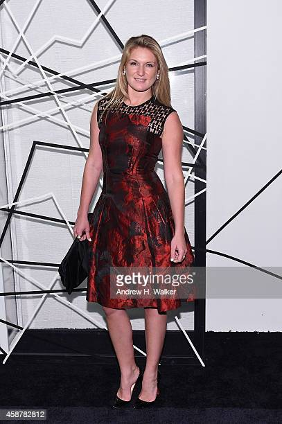 Sarah Arison attends The Museum of Modern Art's 2014 Film Benefit Honoring Alfonso Cuaron at The Museum of Modern Art on November 10 2014 in New York...