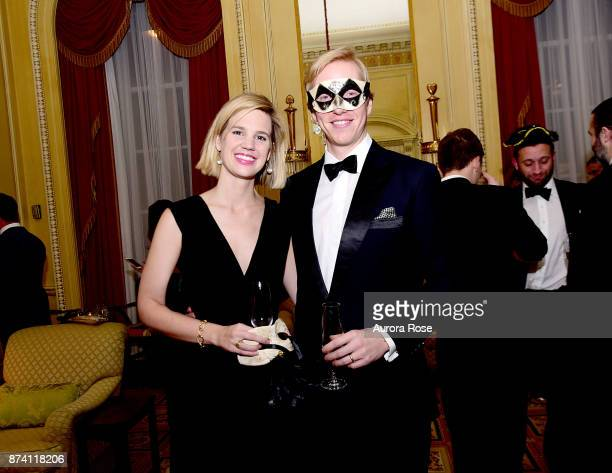 Sarah Armfield and Billy Armfield attend Search and Care's Annual Yorkville Ball at Private Club on November 10 2017 in New York City