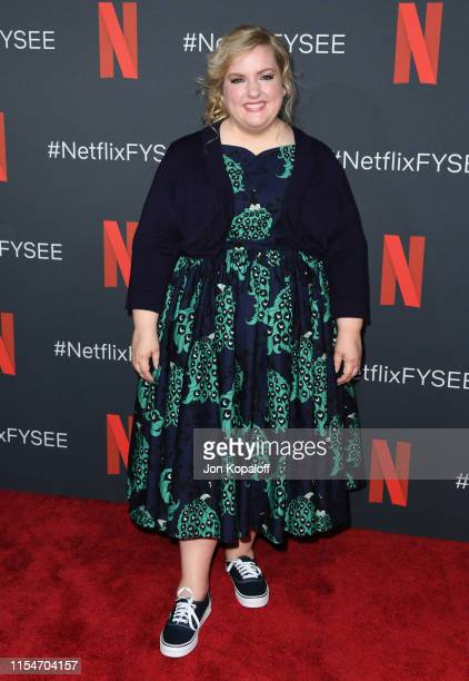 """Sarah Baker attends the FYC Event For Netflix's """"The Kominsky Method"""" at Netflix FYSEE At Raleigh Studios on June 08, 2019 in Los Angeles, California."""