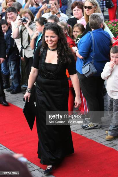 Sarah Barry at St Patrick's church in Fermoy Co Cork where she sang at the wedding of River Dance star Michael Flatley to 32yearold dancer Niamh...