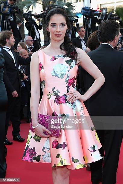 Sarah Barzyk attends the Julieta premiere during the 69th annual Cannes Film Festival at the Palais des Festivals on May 17 2016 in Cannes France