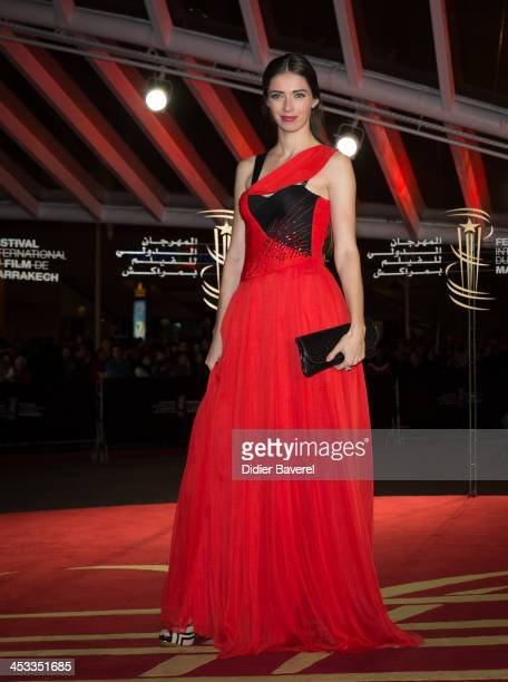Sarah Barzyk Aubrey attends the 'Sara' premiere at the 13th Marrakech International Film Festival on December 3, 2013 in Marrakech, Morocco.