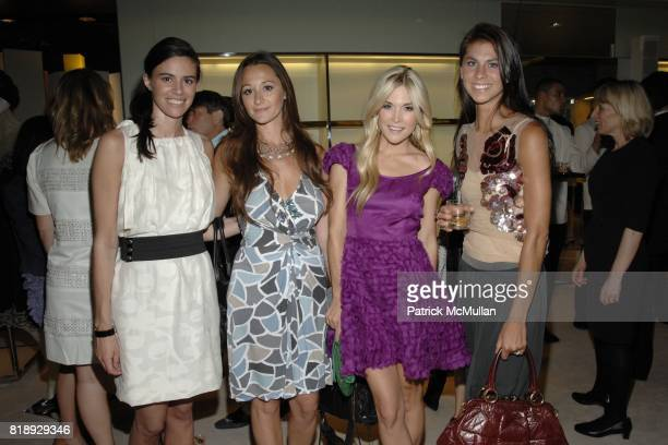 Sarah Basile Alexandra Osipow Vissicchio Tinsley Mortimer and Julie Hackler King attend PRADA NEW YORKERS FOR CHILDREN Host Cocktails for the NYFC...