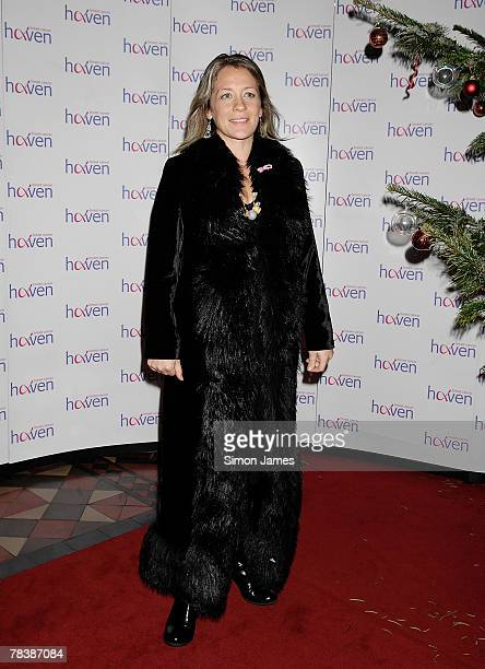 Sarah Beeny attends the Breast Cancer Haven Charity Carol Service at St Pauls in Knightsbridge on December 11 2007 in London