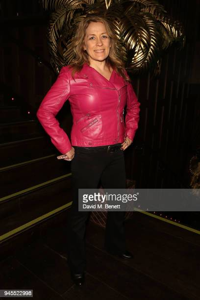 Sarah Beeny attends the grand opening of Proud Embankment on April 12 2018 in London England