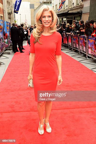 Sarah Beeny attends the UK premiere of 'Postman Pat' at the Odeon West End on May 11 2014 in London England