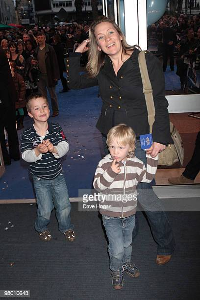 LONDON ENGLAND MARCH 24 Sarah Beeny attends the World Premiere of Nanny McPhee And The Big Bang held at the Odeon West End on March 24 2010 in London...