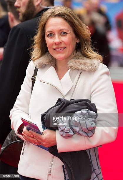 Sarah Beeny attends the World Premiere of Postman Pat at Odeon West End on May 11 2014 in London England