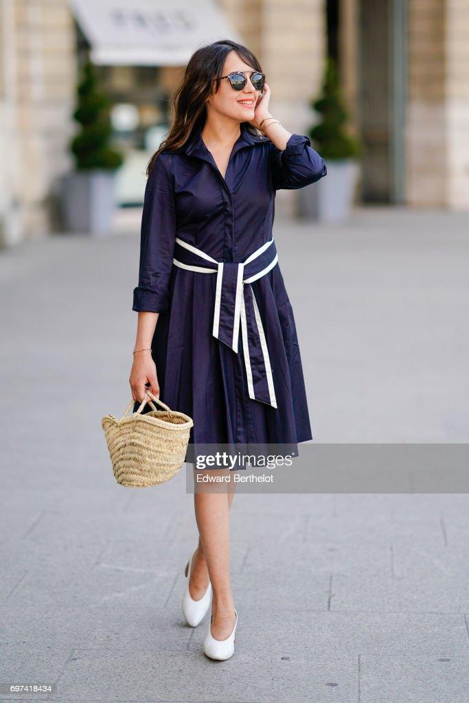 Street Style - Paris - Juin 2017 : News Photo