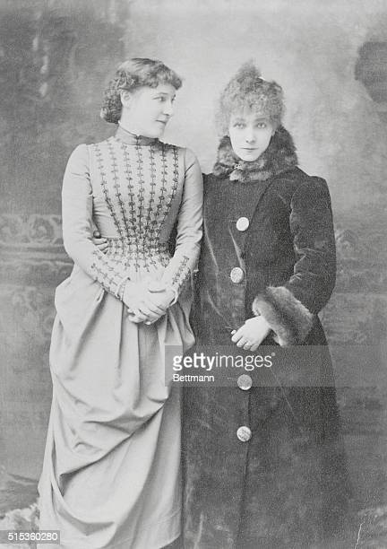 Sarah Bernhardt French actress considered the most romantic and tragic of her day and Lillie Langtry British actress she was known for her beauty as...