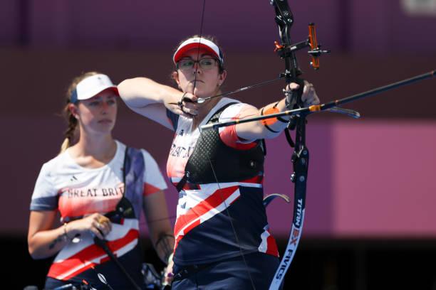 JPN: Archery - Olympics: Day 2