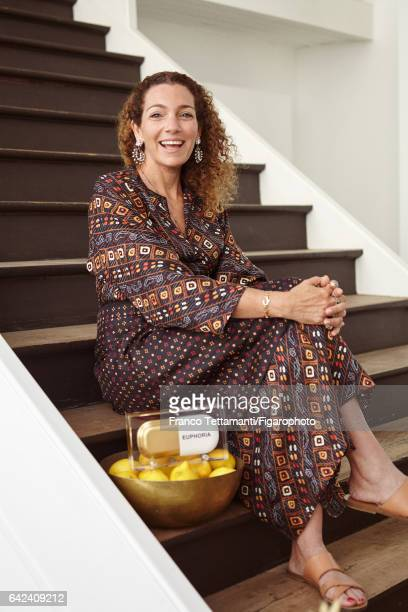 Sarah Beydoun founder of Sarah's Bag is photographed for Madame Figaro on May 9 2016 in Paris France PUBLISHED IMAGE CREDIT MUST READ Franco...