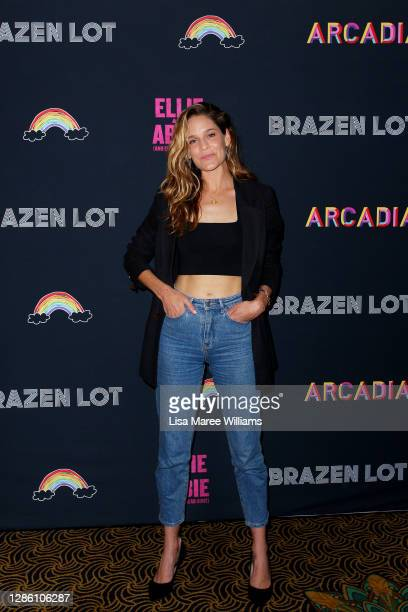 Sarah Bishop attends the Sydney Premiere of Ellie And Abbie at the Ritz Cinema Randwick on November 17 2020 in Sydney Australia