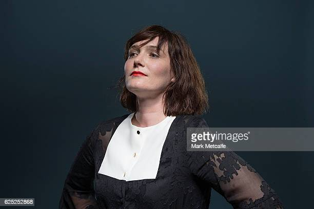 Sarah Blasko poses for a portrait after receiving an ARIA for Best Adult Alternative Album during the 30th Annual ARIA Awards 2016 at The Star on...