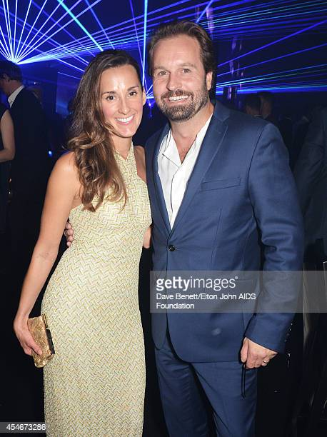 APPLIES Sarah Boe and Alfie Boe attend La Nuit Des Etoiles night club at the Woodside End of Summer party to benefit the Elton John AIDS Foundation...