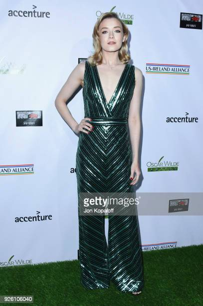 Sarah Bolger attends the 13th Annual Oscar Wilde Awards at Bad Robot on March 1 2018 in Santa Monica California