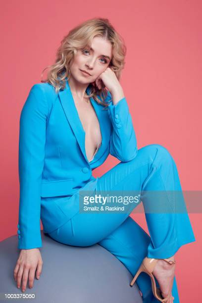 Sarah Bolger from FX'S 'Mayans MC' poses for a portrait at the Getty Images Portrait Studio powered by Pizza Hut at San Diego 2018 Comic Con at Andaz...