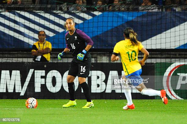 Sarah BOUHADDI of France during the International friendly match between France women and Brazil women on September 16 2016 in Grenoble France