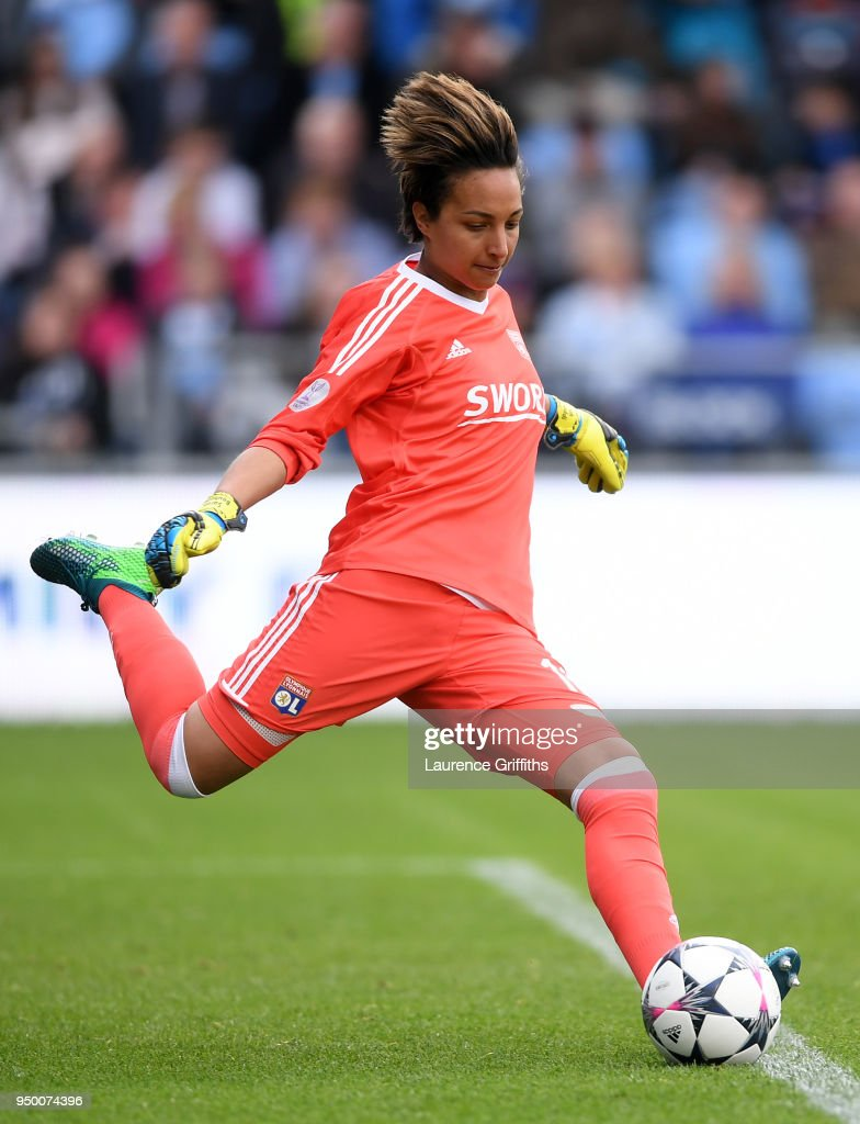 Manchester City Women v Lyon - UEFA Women's Champions League Semi Final: First Leg